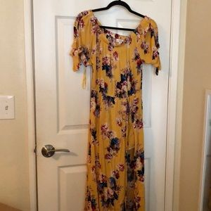 Band of gypsies yellow dress